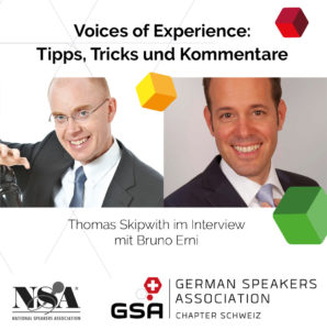 Thomas Skipwith is interviewed by Bruno Erni.
