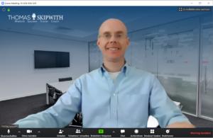 Online meetings: present online
