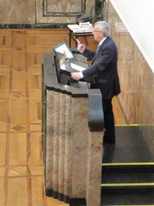 Jean-Claude Juncker am Rednerpult