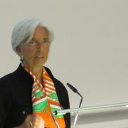 Christine Lagarde at the University of Zurich, Switzerland