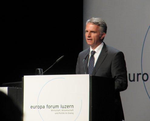 Didier Burkhalter am europa forum luzern