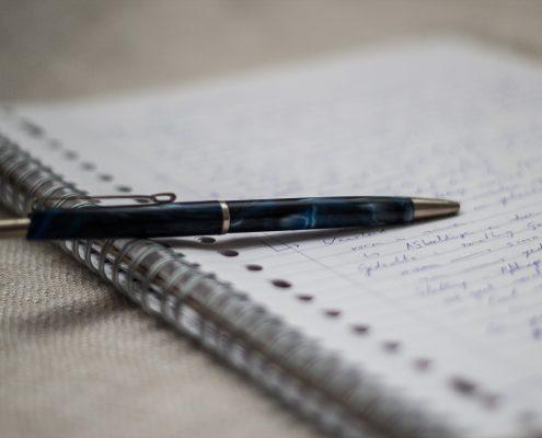 Notizeneinsatz bei Präsentationen