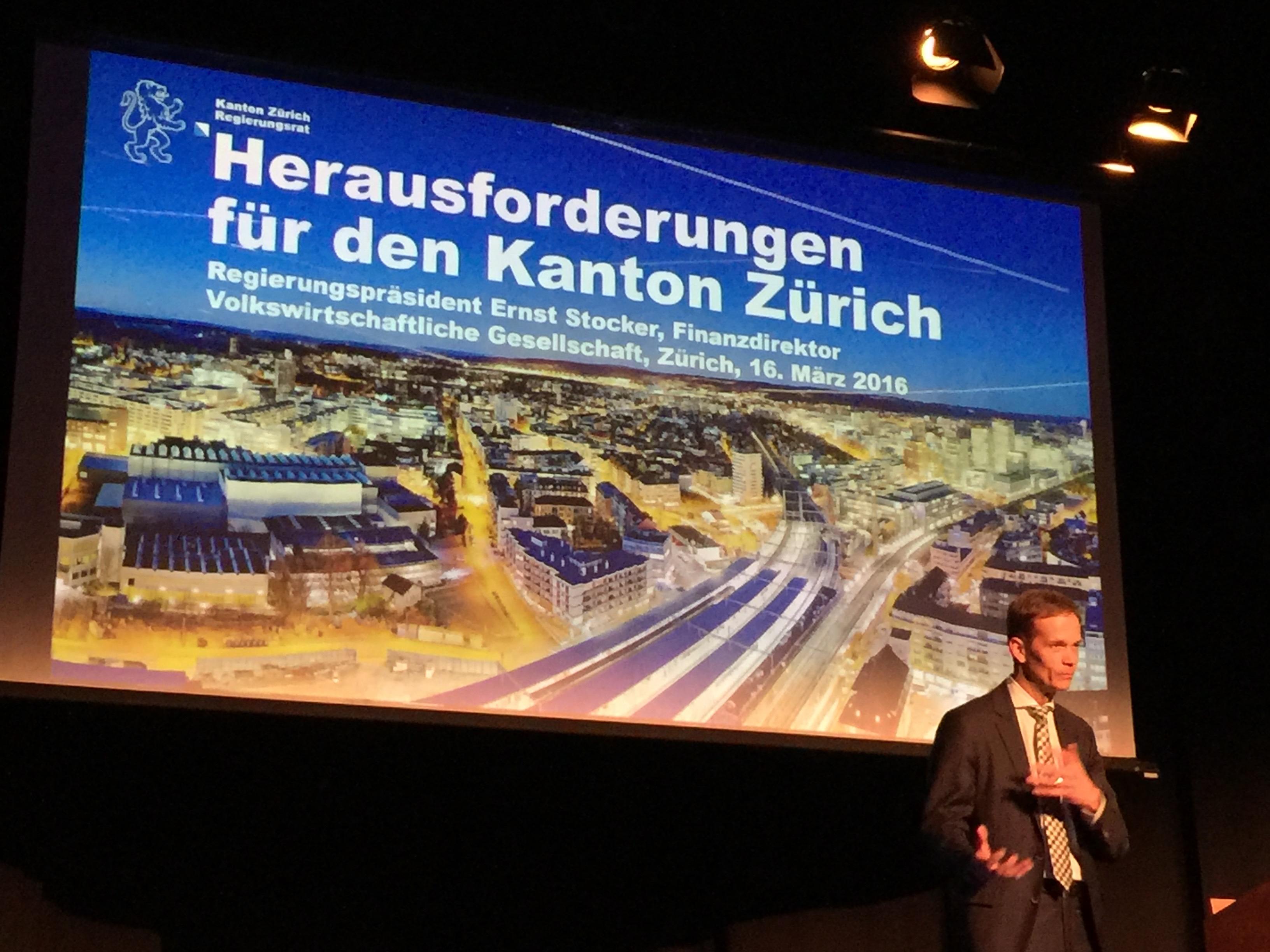 Herausforderungen für den Kanton Zürich