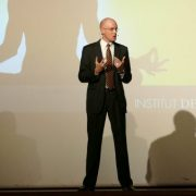 Thomas Skipwith während seiner Keynote