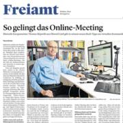 So gelingt das Online-Meeting Thumbnail