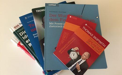 Bücher für Stegreifreden, Rhetorik und Präsentationstechnik