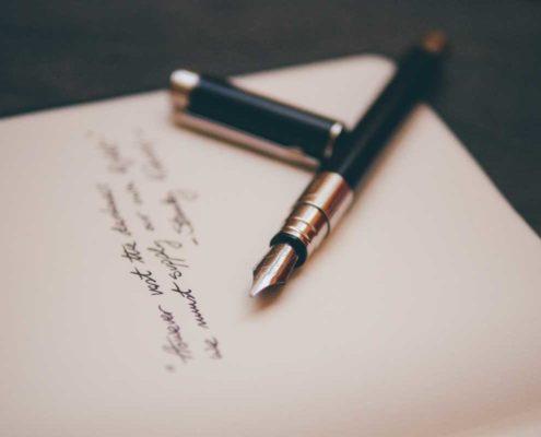 Bewerbung Anschrift