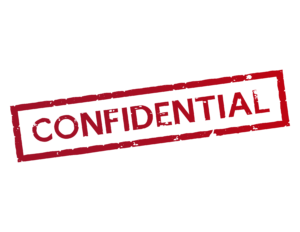 Confidential - Don't click here!