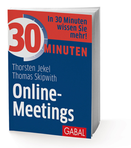 Buch 30 Minuten Online-Meetings