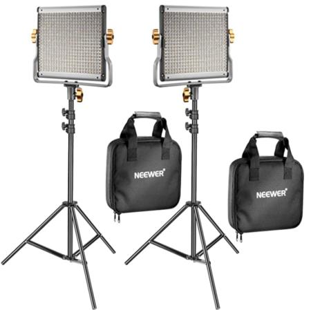Neweer Videobeleuchtungs-Set