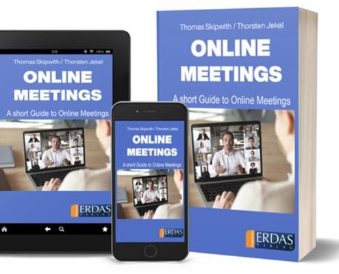 Online Meetings Englisch Cover