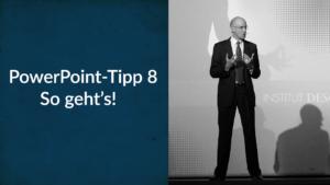 Die wichtigste Taste von PowerPoint