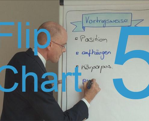 Wie arbeitet man richtig mit dem Flip Chart?
