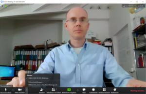Videokonferenzen: virtuellen Hintergrund von Zoom aktivieren