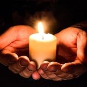 Besinnliche Stimmung: Kerze
