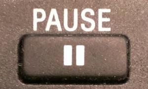 Die Pause ist ein wichtiges rhetorisches Mittel.